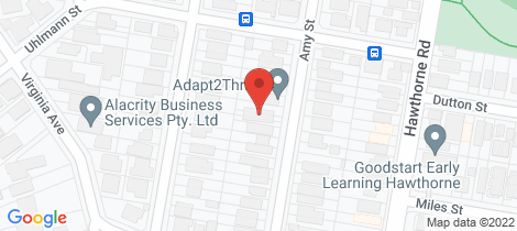 Location map for 63 Amy Street Hawthorne