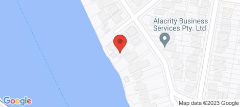 Location map for 118 Virginia Avenue Hawthorne