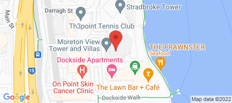 Location map for 5/42 Ferry Street Kangaroo Point