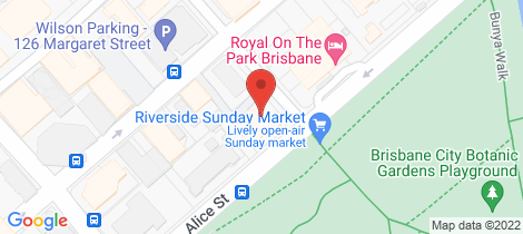 Location map for 3202/140 Alice Street Brisbane City