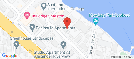 Location map for 6/76 Thorn Street Kangaroo Point