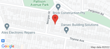 Location map for 11 Morgan Street Norman Park