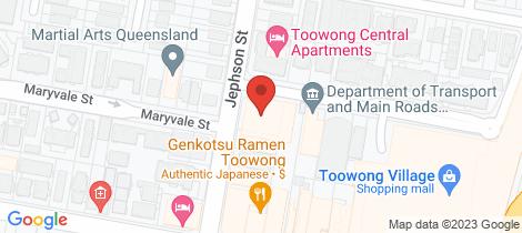 Location map for 1711/48 Jephson Street Toowong