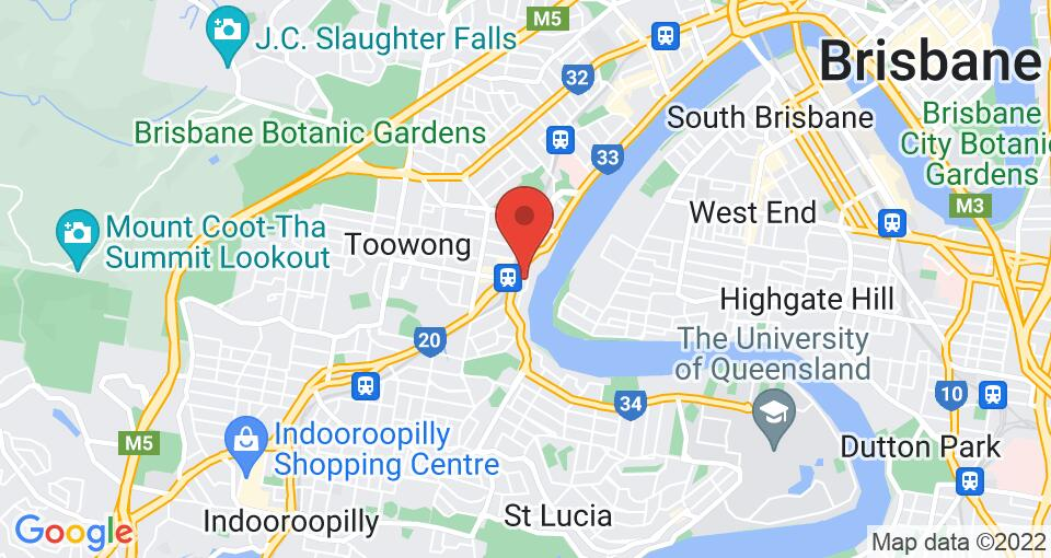 Google Map of UniLodge Toowong - 布里斯班学生住宿