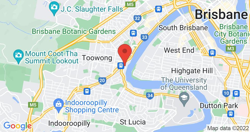 Google Map of UniLodge Toowong - Student Accommodation Brisbane