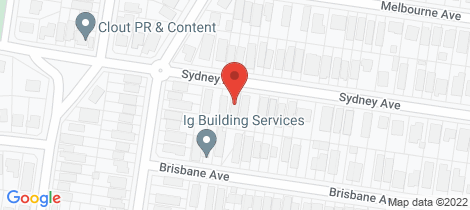 Location map for 15 Sydney Street Camp Hill
