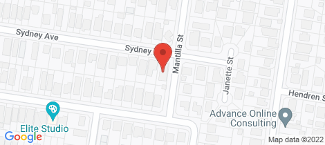 Location map for 73 Sydney Avenue Camp Hill