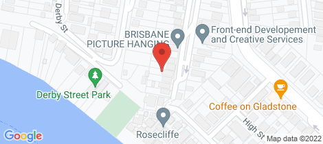 Location map for 29 Chester Street Highgate Hill