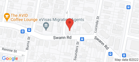 Location map for 3/124 Swann Road Taringa