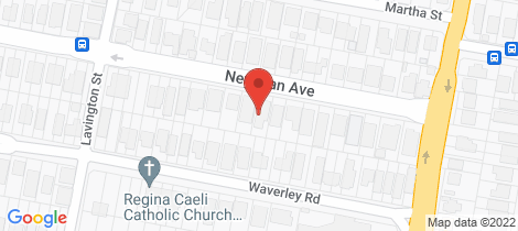 Location map for 89 Newman Avenue Camp Hill
