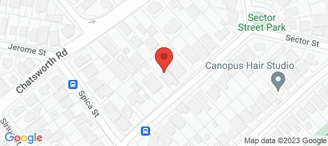 Location map for 51 Buena Vista Avenue Coorparoo