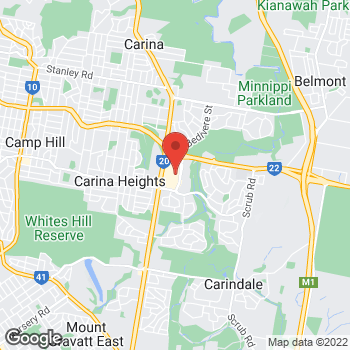 Map of STA Travel at 1151 Creek Road, Carindale, QLD 4152