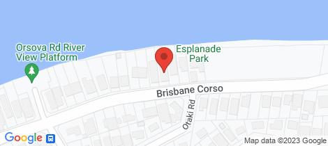 Location map for 363 Brisbane Corso Yeronga