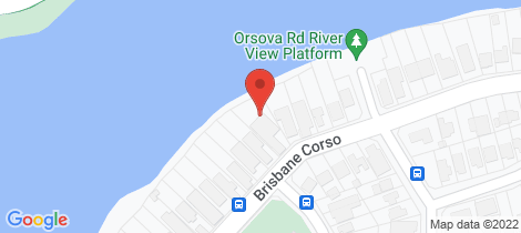 Location map for 405 Brisbane Corso Yeronga