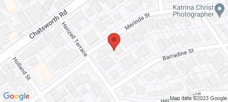 Location map for 7 Merinda Street Greenslopes
