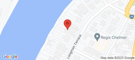 Location map for 65 Longman Terrace Chelmer