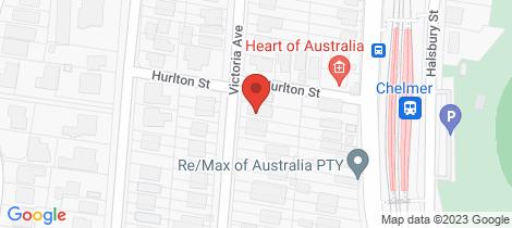 Location map for 102 Victoria Avenue Chelmer