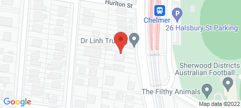 Location map for 137 Honour Avenue Chelmer