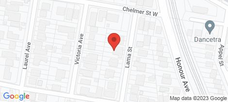 Location map for 17 Lama Street Chelmer
