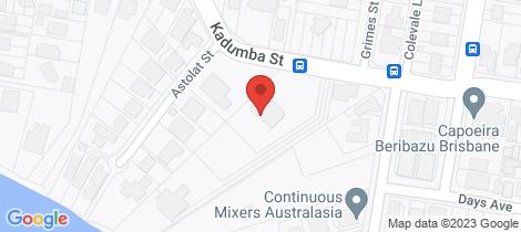 Location map for 88 Kadumba Street Yeronga