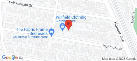 Location map for 41 Richmond Street Chelmer