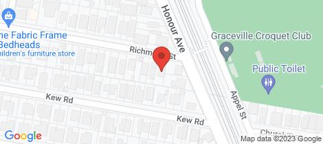 Location map for 8 Richmond Street Chelmer