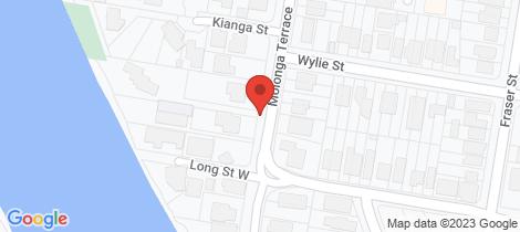 Location map for 35 Molonga Terrace Graceville