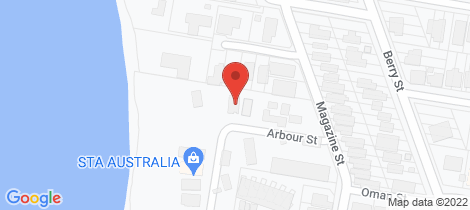 Location map for 8 Arbour Street Sherwood