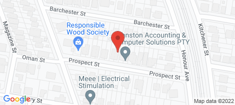 Location map for 27 Prospect Street Sherwood