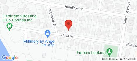 Location map for 99 Hilda Street Corinda