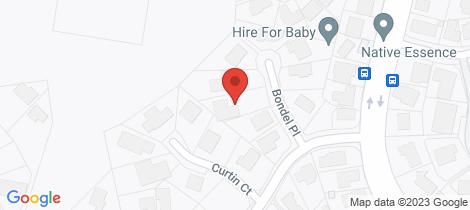 Location map for 12 Bondel Place Mount Ommaney