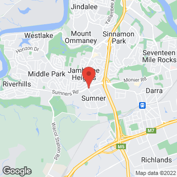 Map of O'Brien® AutoGlass Sumner at 91 Spine Street, Sumner, QLD 4074