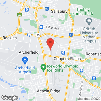 Map of O'Brien Electrical & Plumbing Coopers Plains at 63 Richland Avenue, Coopers Plains, QLD 4108
