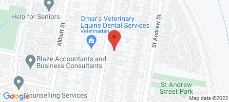 Location map for 48 St patrick Avenue Kuraby
