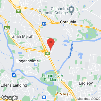 Map of O'Brien Electrical Loganholme at Suite 1/64 Burchill Drive, Loganholme, QLD 4129