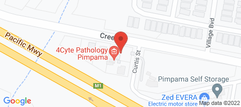 Location map for 7 Curtis Street Pimpama