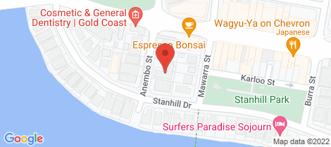 Location map for 20/3-5 Anembo Street Chevron Island
