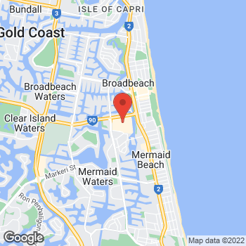 Map of Michael Kors at Hooker Blvd and Sunshine Boulevard, Broadbeach, QLD 4218