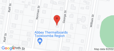 Location map for 2A George Street Allora