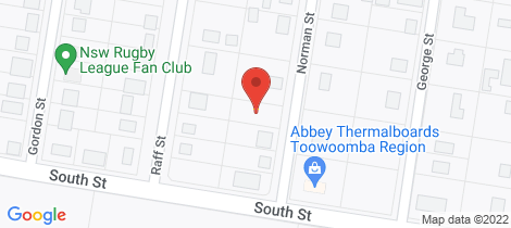 Location map for 6 Norman Street Allora