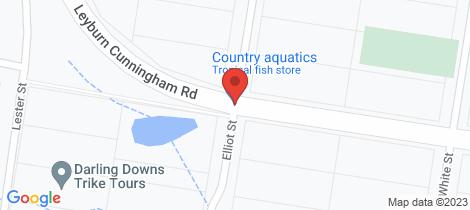 Location map for 2691 Leyburn Cunningham Road Pratten