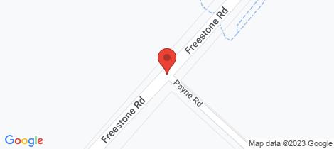 Location map for Lot 10 Freestone Road Cnr Payne Road Freestone
