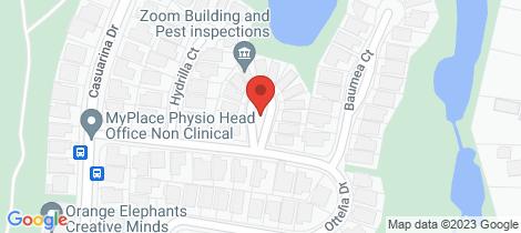 Location map for 3/8 Ottelia Drive Elanora