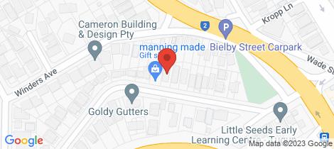 Location map for 2/21 Hillcrest Avenue Tugun