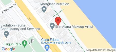 Location map for 15/363 `Pacific Gables' - Golden Four Drive Tugun