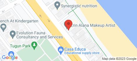 Location map for 4/363 Golden Four Drive Tugun