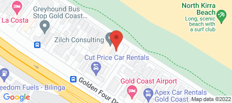 Location map for 404/106 Pacific Parade Bilinga