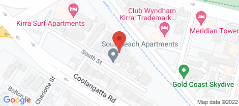 Location map for 11/9 South Street Kirra