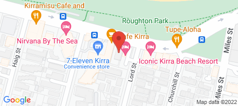 Location map for 5/68 Musgrave Street Kirra