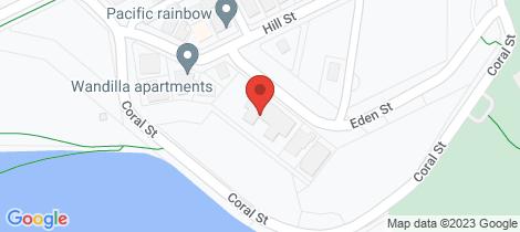 Location map for 3C/3-9 Eden Street Tweed Heads